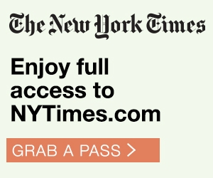 New York Times - Grab a Group Pass