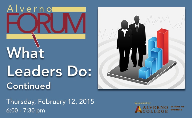 image for February 2015 Alverno Forum Leaders