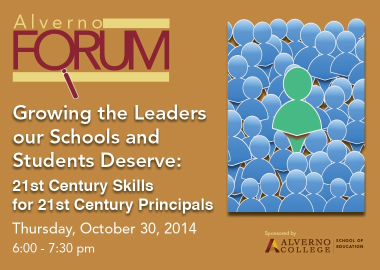 image for October 2014 Alverno Forum School of Education