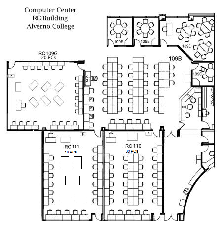 Computer Center Floor Plan