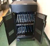 Open Laptop Cart